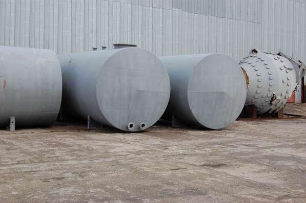 Емкости стальные, объем -50 куб.м.