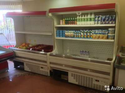 торговое оборудование Холодильные горки Б/У