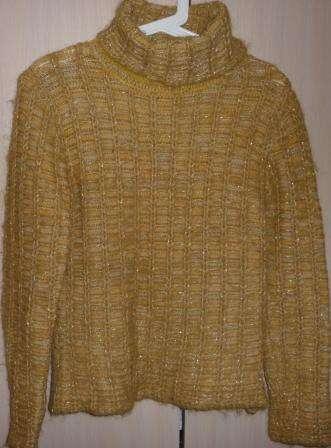 Пуловер мохер/шерсть, р-44 (46)