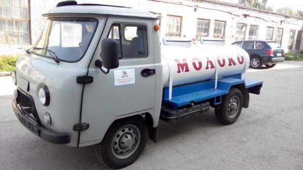 Молоковоз УАЗ 36221, 1500л, ЛКП, с рефрижераторной установкой