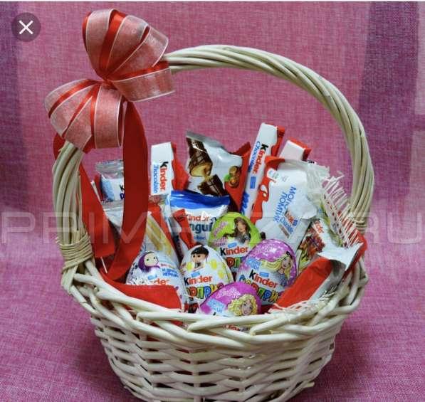 Цветы, торты, конфеты на заказ с доставкой в