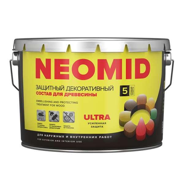 Акриловый деревозащитный состав NEOMID BiO COLOR Ultra