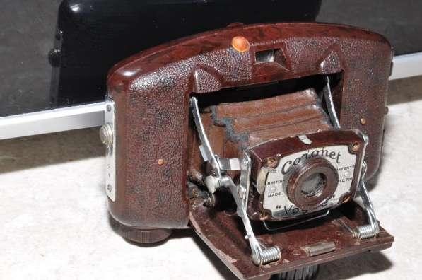 Старая фотокамера Коронет!