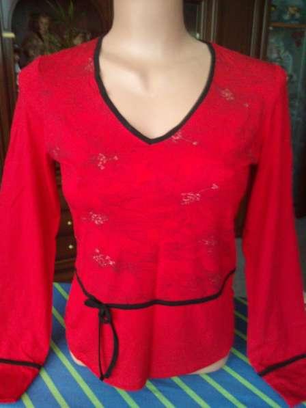 Элегантная нарядная блузка р 46 Польша новая