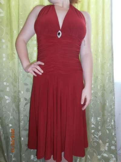 платье вечернее 44-46р-р