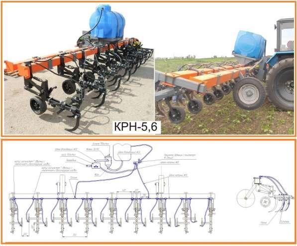 Оборудование для внесения ЖКУ на культиватор КРН-5.6 (8х70)