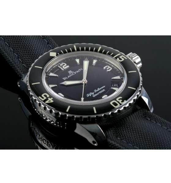 Оригинальные часы Blancpain Fifty Fathoms Automatique