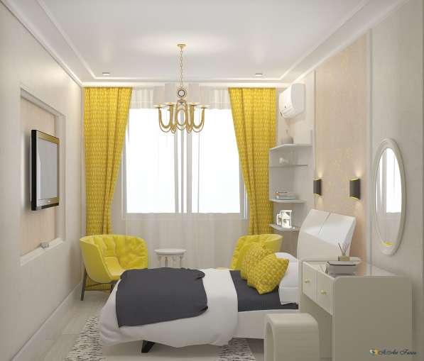 Дизайн интерьера комнаты, квартиры, дома. Уникальный стиль в Краснодаре фото 6