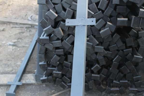 Столбы металлические от производителя в Москве фото 3