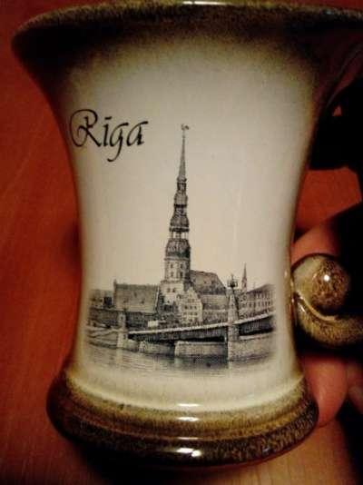 чашка из глины, новая