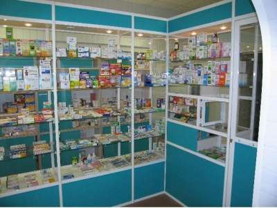 Витрины для аптек