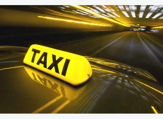 Водитель такси с л/а
