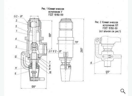 КДН 50-25. Клапан незамерзающий для газа, нефтепродуктов