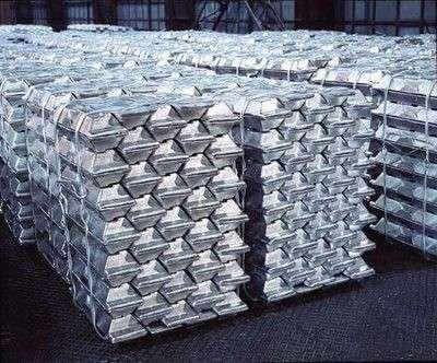 Чушки алюминиевые А999, А8, А6, А0, А7 и др. на экспорт