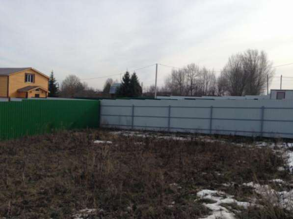 Продается земельный участок 6,3 сотки в дер. Троица, Можайский р-он114 км от МКАД по Минскому шоссе.