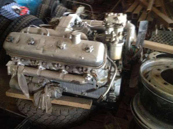 Двигатель МАЗ V8