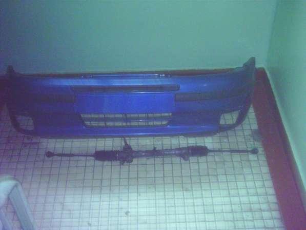 Бампер передний-фиат пунто 1998г-кпп-крылья-двери-подвеска