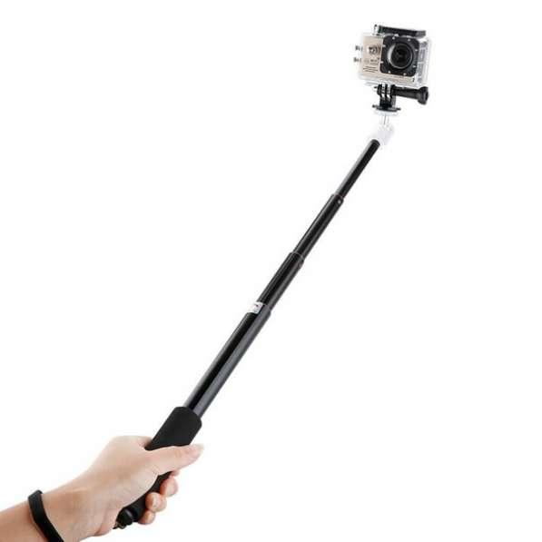 Монопод водонипроницаемый, селфи палка для GoPro, SJCAM
