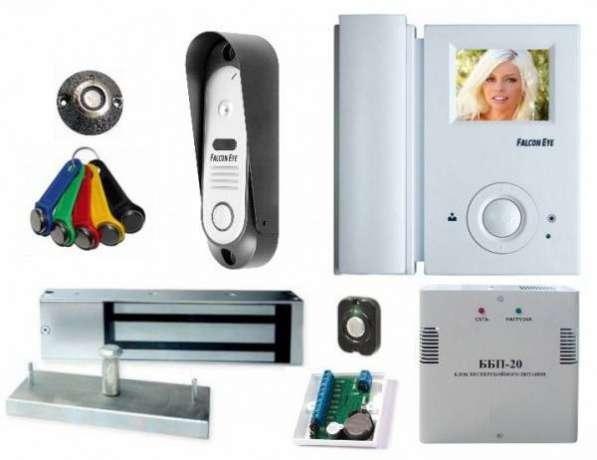 Установка видео и аудио домофонов