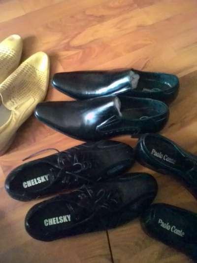 мужские туфли Италия, Англия