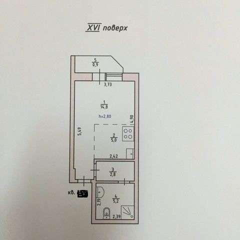 Продам 1-комнатную на ул. Малиновского