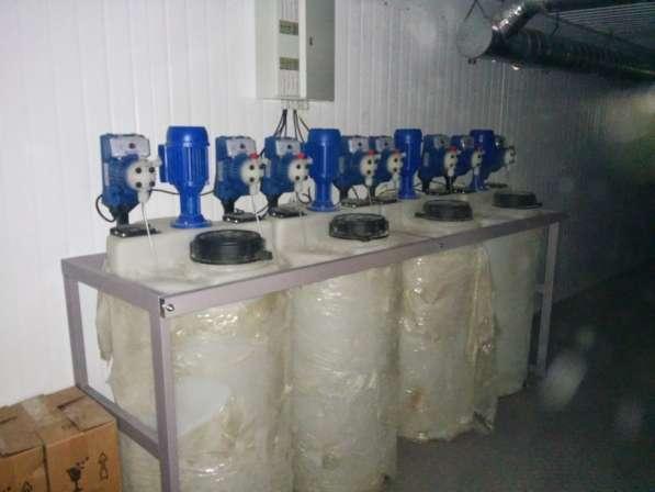 Комплексы по приготовлению и дозировке реагентов (КХР)