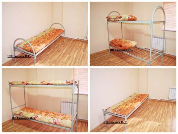 Продаём металлические кровати эконом-класса