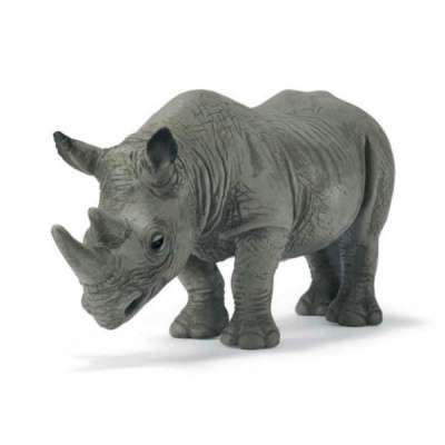 скульптура носорога из металла.