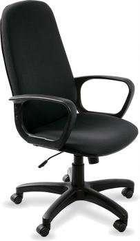 808 черный, тканевое кресло руководител