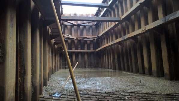 Крепление котлованов траншей шпунтом методом вибропогружения в Екатеринбурге фото 10