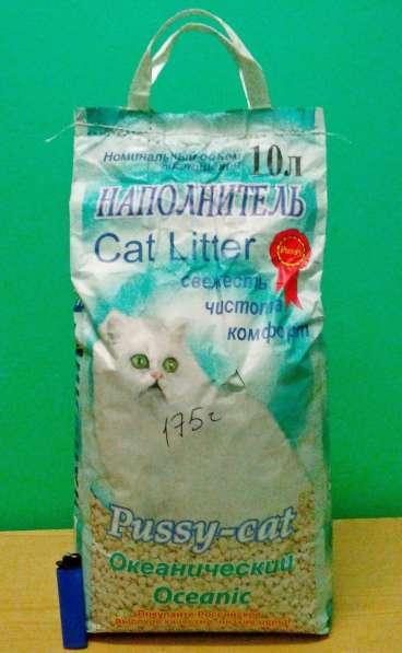 Наполнитель для животных Pussy-cat на 10 л 5 кг