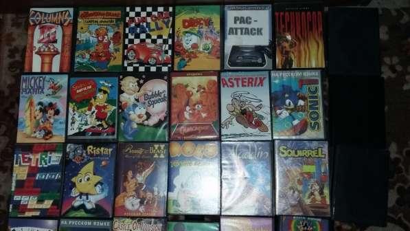SEGA Mega Drive 2 -Игровая приставка +30 Картриджей в 1лоте! в Москве фото 9
