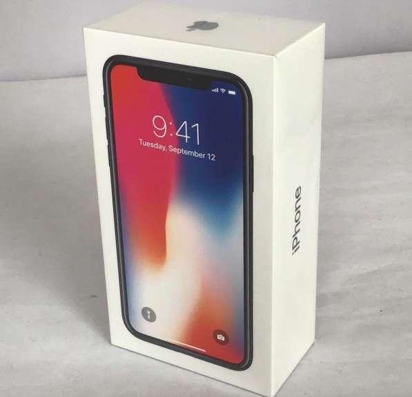 Apple iPhone X - 256 ГБ - Космический серый (разблокирован)
