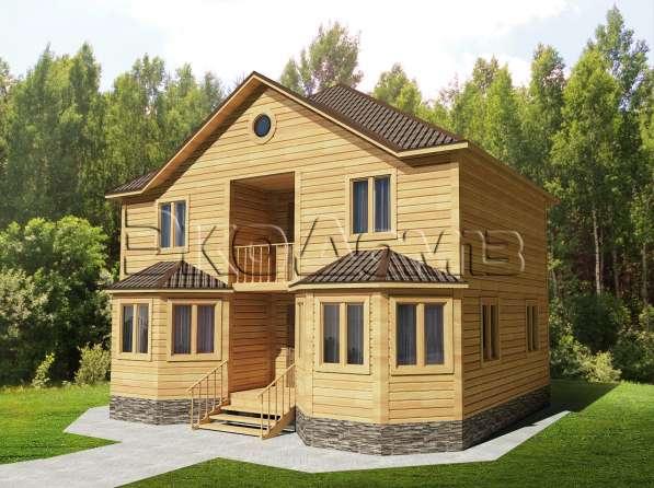 Дома из бруса по низким ценам