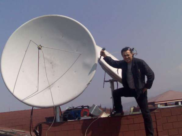 Производим все работы по Спутниковому телевидению