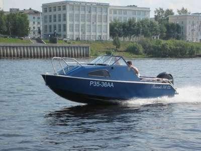 Алюминиевая моторная лодка Баренц 540 СС