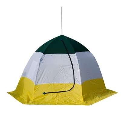 Палатка стэк elite трехместная (дышащая)
