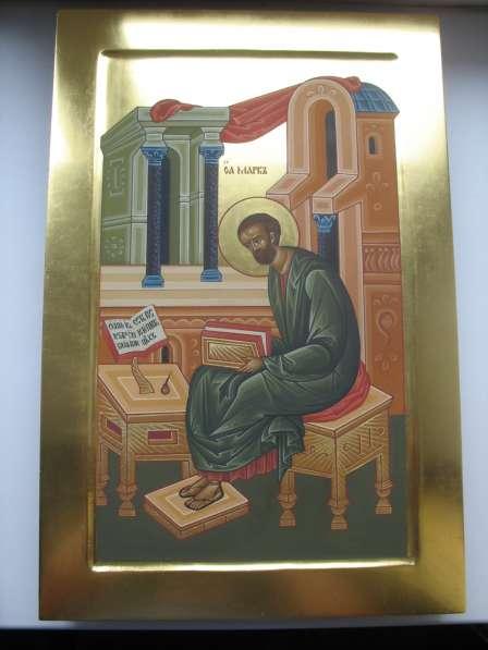 Икона храмовая. Евангелист Марк. На золоте