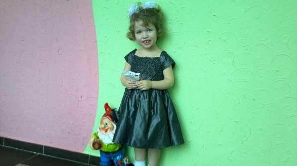 Платье Возраст: 3 года; Рост: 98-104;