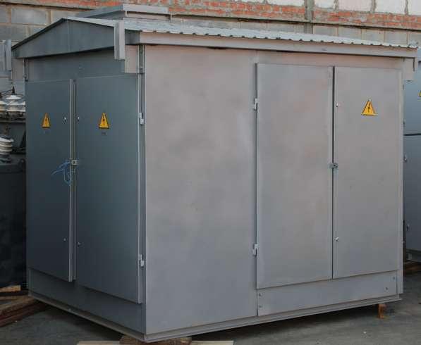 Киосковые трансформаторные подстанции мощностью 25 - 630 кВА в Москве фото 3