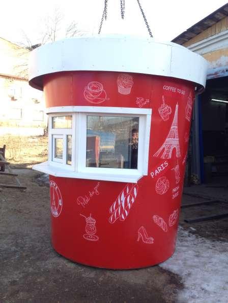Киоск КОФЕ в виде стаканчика в Екатеринбурге фото 4