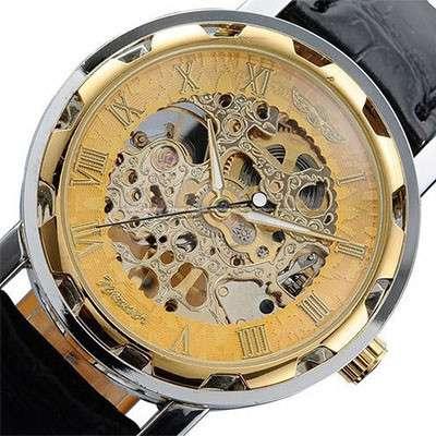 Часы Skeleton Winner механика