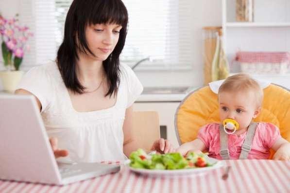 Подработка на дому без вложений для мам в декретном отпуске