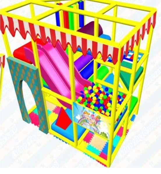 Детский игровой лабиринт, площадка
