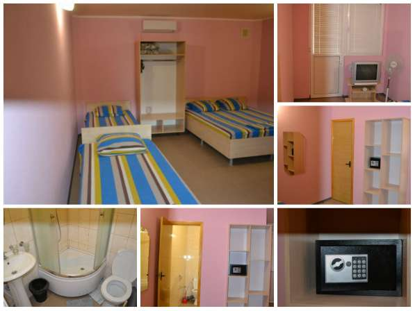 Номера (комната, кухня,сан.узел-в каждом) для отдыха в Крыму в Алуште фото 7
