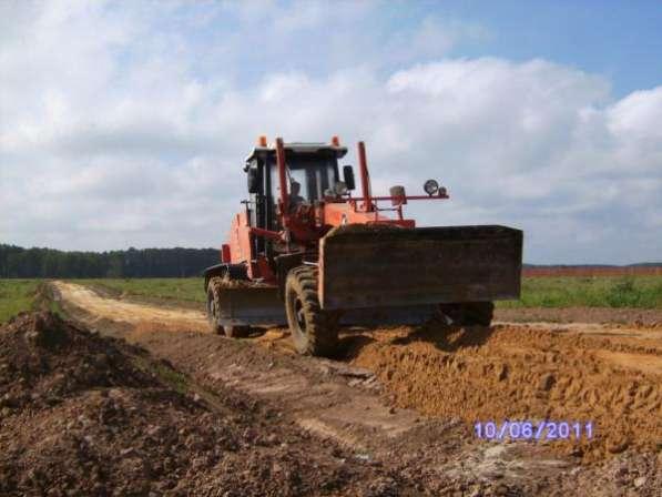 Строительство, отсыпка и ремонт дорог Чехов и район.