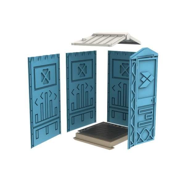 Новая туалетная кабина Ecostyle - экономьте деньги! Афины в фото 3
