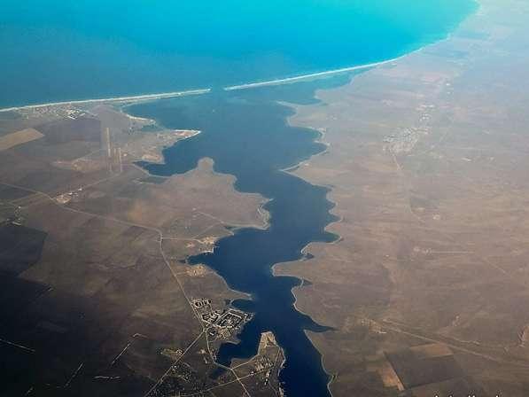 Участок на берегу озера Донузлав