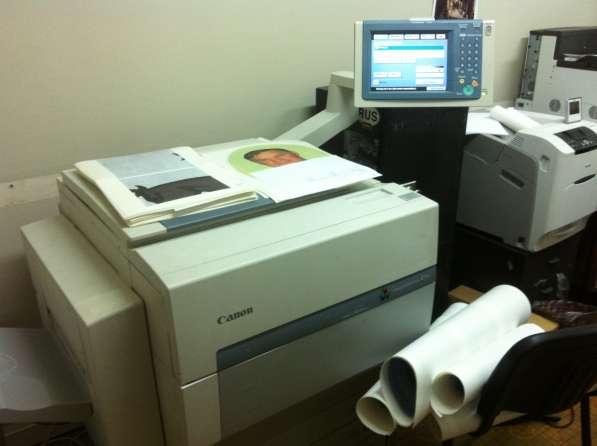 Печать Деколи на Canon image press C1+