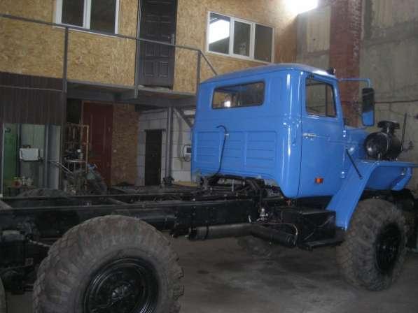 Шасси Урал 5551 2007 г.в. (капитальный ремонт)